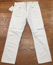 New Men's Jordan Craig Straight Fit WHITE Jeans Size 44x32 Brand New!