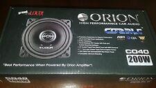 """orion cobalt co40 4"""" 2 way speakers"""