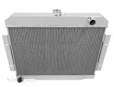 "1971 72 73 74 75 76-83 Jeep CJ5 CJ6 CJ7 2 Row Radiator with 1"" Tubes"