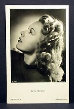 Anny Ondra - Actor Movie Photo - Film Autogramm-Karte AK (Lot-G-8514
