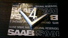 CLASSIC SAAB BADGE EMBLEM 95 96 V4 RARE SALOON / ESTATE NOS NEW