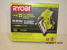 Ryobi P360 18-Volt One+ 18-Gauge Cordless NARROW CROWN STAPLER, FREE SHIP-NIB!!!