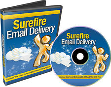 How To Build Your Email Delivery System- Videos on 1 CD