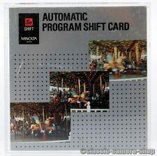 Minolta puce carte Automatic program shift CARD DYNAX 700si 7000i 8000i 7xi 9xi