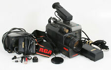 RCA CAMCORDER WITH BATTERY/CHARGER/SYNC CORDS