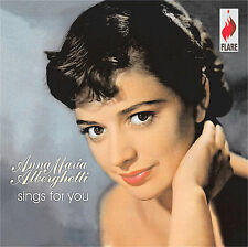 Sings for You by Anna Maria Alberghetti (CD, Sep-2006, Flare)