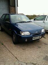 Ford Fiesta Mk3 si 1.6 Zetec Azul Breaking Mk3.5 De 3 Puertas Lado Naranja Repetidor