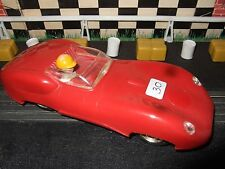 Scalextric 1960s English Lister Jaguar Dark Red (hard to find on UK model)