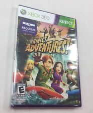 Kinect Adventures Game XBox 360 Factory Sealed Everyone Microsoft  Never Opened