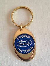 Ford Crown Victoria Keychain Solid Brass key chain Personalized Free