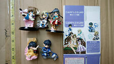 Clamp in 3-D Land vol 5 trading figure set only 1 box open painting problem