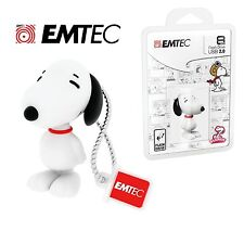 EMTEC - Snoopy 8GB USB 2.0 Flash Drive
