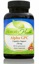 Alpha GPC Most Effective Form of Choline Cognitive Enhancement 60 Capsules 250mg
