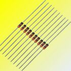 BZX55 500mW (0.5W) and BZX85 (1.3W) Zener Diodes Many Voltages 10, 50 or 100pcs
