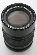 Konica Hexanon AR 135mm f3.5 Telephoto Lens
