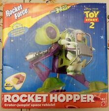 Toy Story 2 Buzz Lightyear Rocket Hopper Space Vehicle wAlien & Buzz DisneyPixar