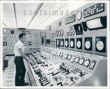 Agua Fria Power Plant Operator Glendale Arizona Press Photo