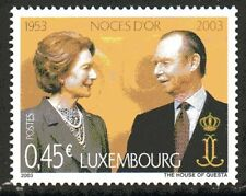 Luxembourg Y&T 1547  - GOLDEN WEDDING  - 2003  **MNH