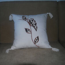 Pillow Cases 6 set Sofa Couch Bed Car Dining Room Throw Cushion Home Decor White