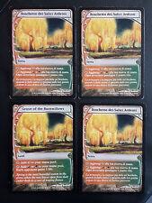 SET 4X BOSCHETTO DEI SALICI ARDENTI - GROVE OF THE BURNWILLOWS - MTG MAGIC [MF]