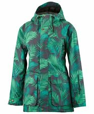 2017 NWT Airblaster Womens Nicolette Jacket Snowboard M Medium 15K Jungle ay873