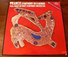 FRANCK Symphony In D Minor Paul Paray Vinyl LP Album MG50285 VG+ Vintage-Records