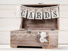 Wedding Reception Gift Card Holder Box Wedding Card Box  Wedding Wishing Well