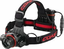 Coast Black And Red HL8 Focusing 344 Lumen LED Headlamp With 4 X AA 19649 *NEW*