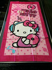 TOALLA NIÑO HELLO KITTY 70 CM X 140 CM