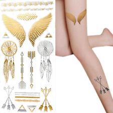 Flügel Feder Mode Tattoo Sticker Aufkleber Körper Tattoo