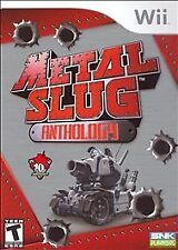 NINTENDO Wii Metal Slug Anthology 1,2,3,4,5,6,X GAME Adult Owned Complete MINT U
