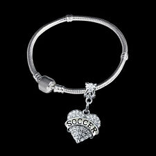 Soccer bracelet  Soccer jewelry Soccer player gift best jewelry gift