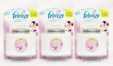 3 Febreze Set & Refresh SPRING & RENEWAL Air Freshener Refill & Diffuser Kit