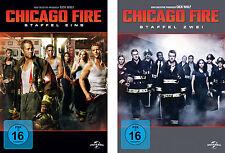 12 DVDs * CHICAGO FIRE - STAFFEL / SEASON 1 + 2 IM SET # NEU OVP +