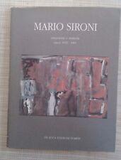MARIO SIRONI - ASTRAZIONE E MATERIA - OPERE 1932 1961 - DE LUCA EDIZIONI D'ARTE