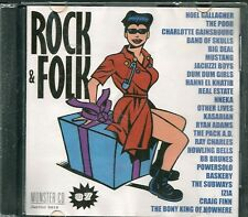 CD COMPIL 24 TITRES--ROCK & FOLK VOL° 37--GALLAGHER/GAINSBOURG/MUSTANG/ADAMS...