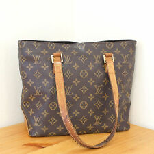 Authentic Louis Vuitton Monogram Cabas Piano Shoulder Bag Medium LV Purse