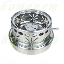 1 Stainless Steel Alcohol Spirit Stove Adjustable Flame 4 Camping Hiking Survial