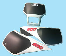 Kit Tabelle Yamaha TT 600 dal 1984/85 - adesivi/adhesives/stickers/decal