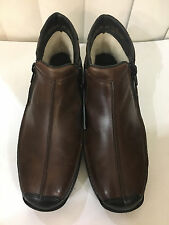Rieker Daphne Black/brown Sheep Wool Leather Flat Ankle Boots Sz 5.5-8.5