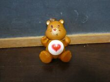 Vintage PVC Care Bear Figure Toy Birthday Cake Toppers hair Tenderheart love