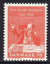 DENMARK MNH 1972 250th Anniversary of the Comedies of Ludvig Holberg