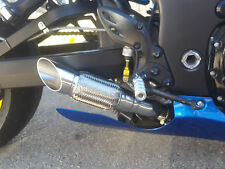 2008 - 2017 GSXR 1300 Hayabusa slip on's RLS Exhaust Chaos Series polished