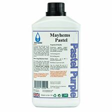 Mayhems Pastel Pre Mixed Water Cooling Liquid Coolant Purple Fluid 1 Litre