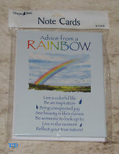 LEANIN TREE Advice from a Rainbow 8 Notecards~#35934~Beauty in Life's Curves~