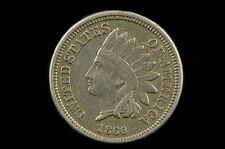 1860 U.S.A.Indian Head One Cent high grade possible cleaning issue.