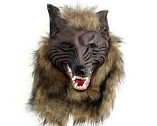 Latex Werewolf Mask Wolf Head Cosplay Costumes Props Party Halloween Masquerade