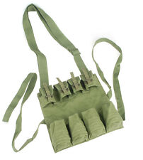 SURPLUS CHINESE PLA MILITARY STICK GRENADE MAG POUCH ARMY GREEN -34136