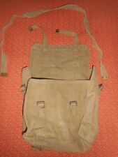 G.BRITAIN ARMY : 1943 WWII - SMALL  BACKPACK  HAVERSACK 1943 WWII