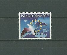 ICELAND 1990 (HANG-ON-ISSUE)European year of tourism MNH (O)(nl)
